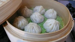 Beer xiao long bao steaming