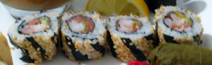 Salmon helix maki